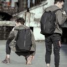 背包男大容量韓版電腦書包時尚潮流青年簡約休閑旅行包男士後背包WY【快速出貨八折優惠】