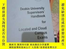 二手書博民逛書店Deakin罕見University Supervisor