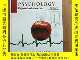 二手書博民逛書店HEALTH罕見PSYCHOLOGY 健康心理學Y171144 見圖 見圖 出版1997