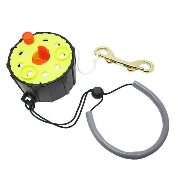潛水 捲線器/ 捲線軸/ 手捲輪(有固定扣) 30M長 浮潛 深潛