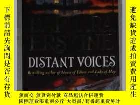 二手書博民逛書店英文原版罕見Distant Voices by Barbara