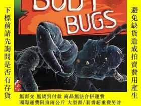 二手書博民逛書店放大系列圖書罕見Zoom in on Body Bugs身體蟲子
