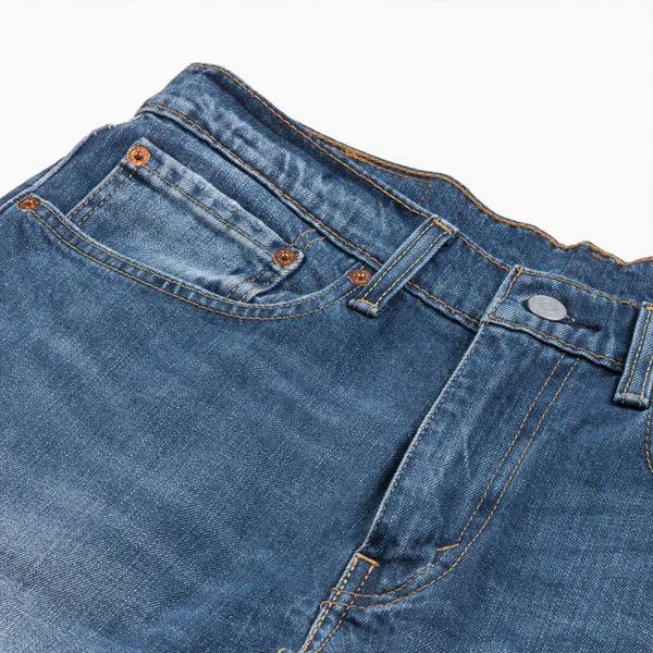 [買1送1]Levis 男款 牛仔短褲 / 上寬下窄 502 版型 / 彈性布料