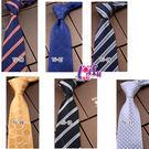 得來福領帶,k1264領帶8cm花紋領帶拉鍊領帶寬版領帶,售價170元