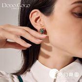 耳環-貓頭鷹耳釘女氣質韓國個性創意百搭復古耳環2018新款法式精致耳夾-奇幻樂園
