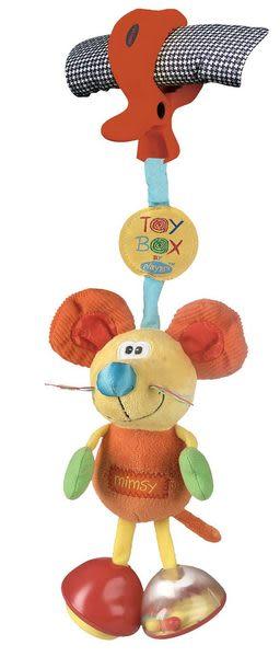 【TwinS伯澄】Playgro 叮噹鼠推車吊飾玩具0101141