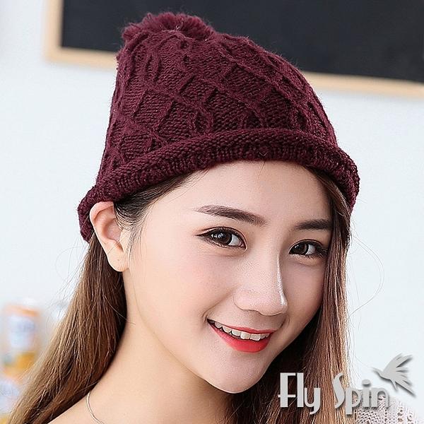 保暖針織帽-輕薄保暖針織毛線帽51127 FLY SPIN