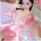 2017春蕾絲吊帶睡衣兩件套LVV521【kikikoko】
