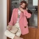 西裝外套 早秋小西裝外套女2020秋季薄款寬松網紅復古休閑百搭氣質西服上衣 风尚3C