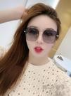 新款偏光太陽鏡女士防紫外線韓版潮大臉時尚墨鏡近視眼鏡夏 魔法鞋櫃