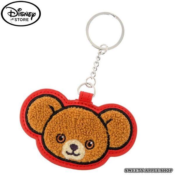 日本 DISNEY STORE 限定 迪士尼 大學熊 摩卡 編織吊飾 鑰匙圈