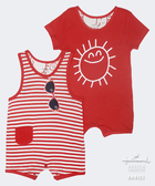 Hallmark Babies 陽光燦爛無袖造型連身衣(兩件裝) HD1-B09-03-BU-PR