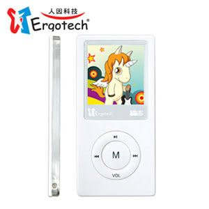 Ergotech 人因 UC500CW 行動鈦郎 MP4 PLAYER