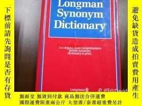 二手書博民逛書店Longman罕見synonym dictionaryY443410 [Laurence Urdang, ed