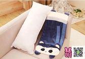 大抱著睡覺抱枕公仔懶人毛絨玩具娃娃女孩床上可拆洗長條枕頭可愛  玫瑰女孩