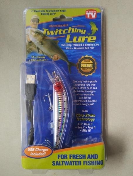 【SG246】發光魚餌 fishing lure 釣魚工具 魚餌 魚鉤海釣 漁具魚餌 Twitching Lure 魚勾