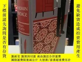 二手書博民逛書店Of罕見Human Bondage 《人性枷鎖》Maugham 毛姆經典名著 folio society 2011