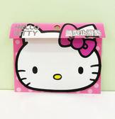 【震撼精品百貨】Hello Kitty 凱蒂貓~HELLO KITTY 車用造型止滑墊(頭型桃)