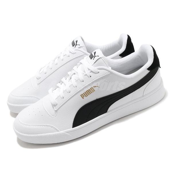 Puma 休閒鞋 Shuffle 白 黑 男鞋 女鞋 小白鞋 基本款 百搭款 【ACS】 30966803