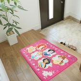 粉紅公主卡通踏墊(45*65cm)【愛買】