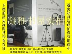 二手書博民逛書店Monochrome罕見Home: Elegant Interi