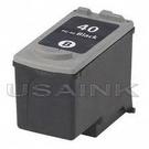 USAINK~CANON PG-40/PG40 黑色環保墨水匣 iP1200/iP1300/iP1700/MP150/MP160/MP180/MP450/MX308/318