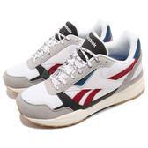 Reebok 復古慢跑鞋 Royal Bridge 2.0 白 紅 麂皮鞋面 增高設計 韓系 運動鞋 女鞋【PUMP306】 DV5170