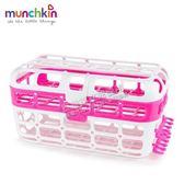munchkin 洗碗機專用小物籃-粉[衛立兒生活館]