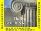 二手書博民逛書店The罕見Ten Golden Rules: Ancient Wisdom From The Greek Phil