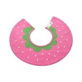 嬰兒寶寶圍兜圓形360度口水巾吸水圍嘴圓邊印花雙按扣口水兜 米希美衣