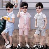 618好康又一發兒童禮服兒童晚禮服夏季套裝英倫男童裝「潮咖地帶」