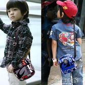 新款兒童斜挎包男童女童手機包錢包單肩包字母小孩挎包潮包 雲雨尚品