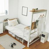 工業風 床 床架 單人床架【L0131】工業風多用途單人床架 收納專科