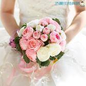 尾牙年貨節婚慶新娘仿真花婚禮手捧花浪漫洛麗的雜貨鋪