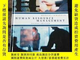 二手書博民逛書店Human罕見Resource Management 人力資源管