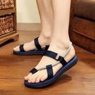 夾腳拖鞋 涼鞋2020新款男士涼鞋拖鞋兩用夏季外穿韓版潮流個性室外人字拖男