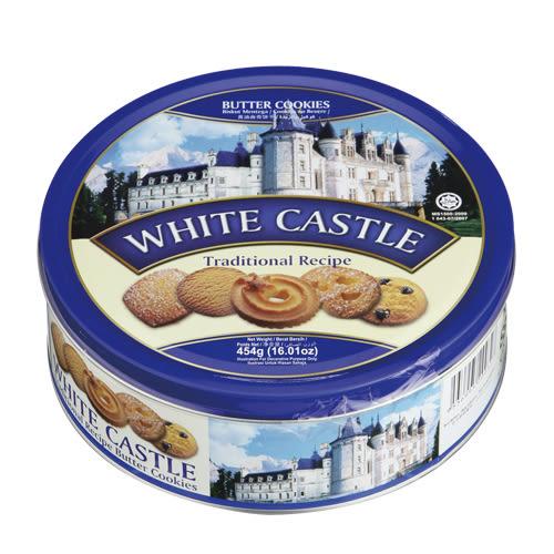 TORTO白色城堡奶油曲奇餅乾454g【愛買】