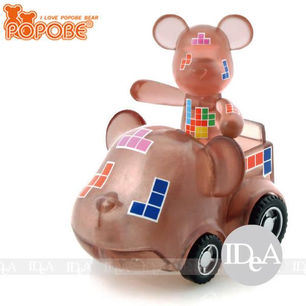 POPOBE熊 車載系列 2吋公仔車飾 小汽車玩具擺飾 俄羅斯魔術方塊 非 暴力熊 momo熊 BE@RBRICK熊 IDEA