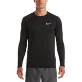 Nike Essential [NESSA587-001] 男 長袖 防曬衣 快速排水 防禦 紫外線 UPF40 黑