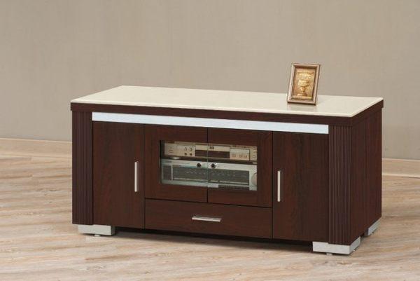 【新北大】✪ P315-7 艾絲特胡桃色4尺電視櫃(含人造石面)-18購