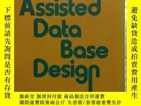 二手書博民逛書店Computer-Assisted罕見Data Base Des