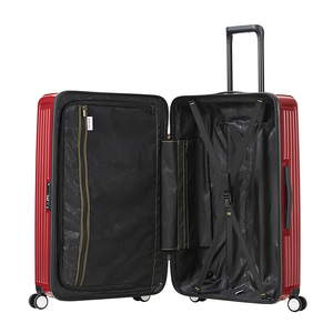 【CENTURION百夫長】拉鍊款27吋U_S_JFK紐約紅行李箱