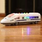 玩具模型車 慣性車和諧號列車動車組火車頭車高鐵聲光男孩模型【快速出貨八折搶購】