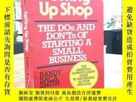 二手書博民逛書店Setting罕見Up Shop—THE DOs AND DONT`Ts OF ATARTING A SMALL