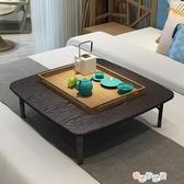 折疊桌家用小炕桌吃飯桌矮桌床上書桌電腦桌榻榻米飄窗小桌子方桌YYJ 新春禮物
