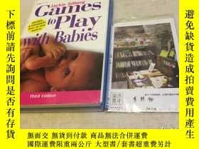 二手書博民逛書店英文原版罕見games to play with babiesY