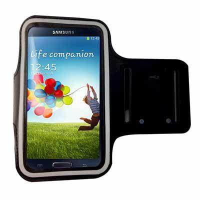 (3折)手機專用運動臂套(三星/小米/HTC/SONY 5吋以下手機通用) 黑