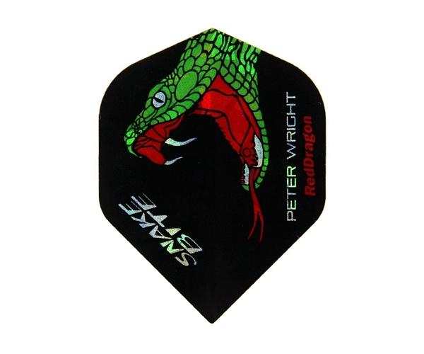 【Red Dragon】Snakebite Peter Wright Model HardCore F3060 鏢翼 DARTS