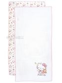 HELLO KITTY 晚安曲系列紗布澡巾 100%純棉新生兒紗布洗澡巾 三麗鷗正版授權台灣製 K743~觸感細緻