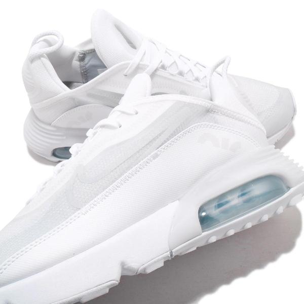 Nike 休閒鞋 Air Max 2090 白 灰 男鞋 氣墊 半透明鞋面設計 全新鞋款 運動鞋 【ACS】 BV9977-100